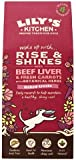 Lily's Organic Rise and Shines Biscuits with Liver and Carrots 100g (Pack of 3)