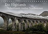 Die Highlands - Schottlands rauher Nordwesten (Tischkalender 2016 DIN A5 quer): Schottlands faszinierende Landschaften in dramatischen Bildern (Monatskalender, 14 Seiten ) (CALVENDO Natur)