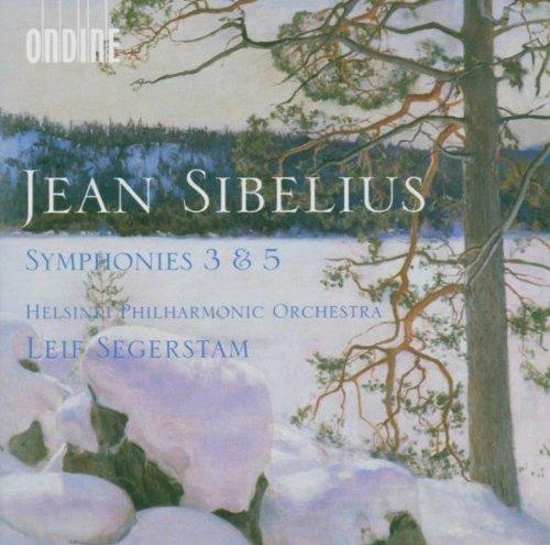 Preisvergleich Produktbild Jean Sibelius: Sinfonie Nr.3 C-Dur op.52 / Sinfonie Nr.5 Es-Dur op.82