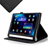 IVSO Lenovo YOGA 2 10.1-Inch Flip Case - Slim Folio Book Case Cover for Lenovo YOGA 2 10.1-Inch Tablet (Black)