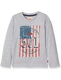 Levi's Ls Tee Flagg, T-Shirt Garçon