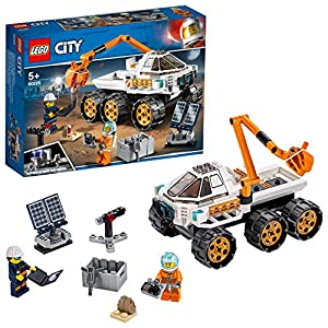 LEGO CitySpacePort ProvadiGuidadelRover, Set da Costruzione Avventure Spaziali,Macchinina Giocattolo per la Spedizione su Marte Ispirato alla NASA con Minifigura dell'Astronauta, 60225 5702016369953 LEGO