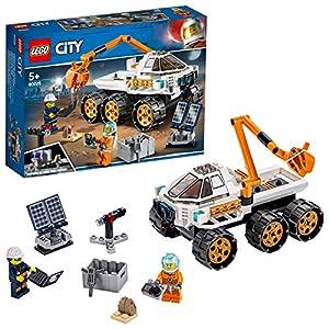 LEGO- City Space Port Juguete de Construcción de Prueba de Conducción del Róver, Multicolor (60225)