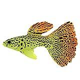 Windy5 Acquario Falso Luminoso Nuoto dei Pesci di Simulazione Animali dell'Oceano Tropicale Fish Tank paesaggistica Pet Oranament
