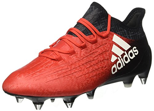 adidas X 16.1 Sg, pour les Chaussures de Formation de Football Homme Rouge (Red/footwear White/core Black)