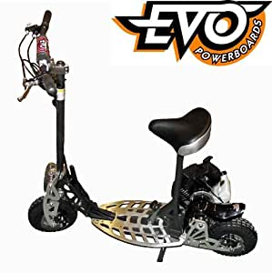 trottinette moteur essence thermique 71cc 2 vitesses evo powerboard sports et. Black Bedroom Furniture Sets. Home Design Ideas