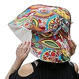 Chapeau souple Chapeau Visière en Plein Air pliable chapeau à Large Bord Deux Couches Hats Anti-UV Casquette Respirant Cyclisme Vélo pour Printemps été Automne