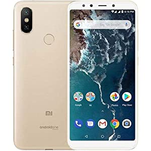Xiaomi Mi A2 Dual SIM 4GB/64GB Smartphone International Version - Gold