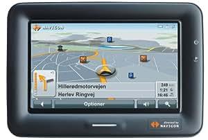 Navigon PNA 7000 T Navigationssystem Europa mit TMC, Fahrspurassistent, reale Beschilderungsanzeige