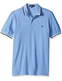 Fred Perry Twin Tipped Fred Perry Shirt Blue Prince, Polo