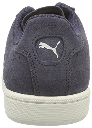 Puma MATCH 74 SUEDE, Sneakers basses homme Bleu - Blau (periscope-moonless night-marshmallow-team gold 01)