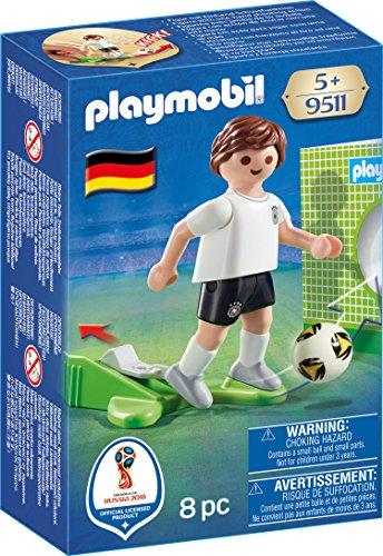 Playmobil 9511 Nationalspieler Deutschland ja Spielzeugfiguren (Fußball-spieler Kleine)