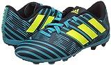 adidas Jungen Nemeziz 17.4 Fxg J Fußballschuhe, Mehrfarbig (Legend Ink /solar Yellow/energy Blue ), 36 2/3 EU - 5