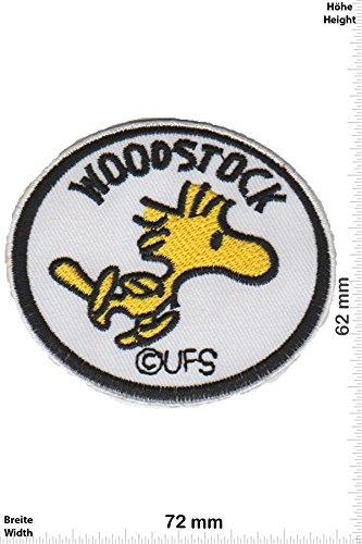 Patch - Snoopy - Die Peanuts - Woodstock - Cartoon - Snoopy - Aufnäher - zum aufbügeln - Iron On