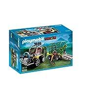 Playmobil 5236 Dinos Transport Vehicle with Baby T-Rex Dinosaur