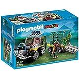 Playmobil - Vehículo con bebé T-Rex (5236)
