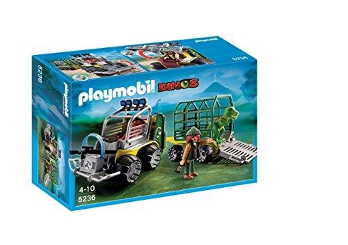Playmobil - Vehículo con bebé T-Rex 5236