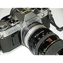 Cámara Réflex–Fotos Camera–SLR Canon AE de 1AE1inclusive lente RMC Techno M.C. Macro Zoom 1: 4.5F = 80–200Diámetro 52# # # difíciles analógica técnica coleccionar–by lll # # #