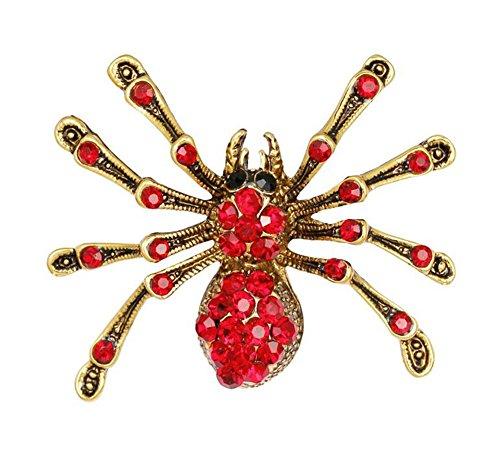 Skyeye 1 Stück Insekt Spinne Brosche Pin Anzug Corsage Mantel Brosche Kostüm schmücken Corsage (Chemische Anzug Kostüm)