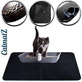 Grande tappetino cattura lettiera per gatti con impermeabile a...