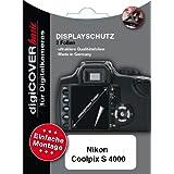 DigiCover Protection d'écran pour Nikon Coolpix S4000