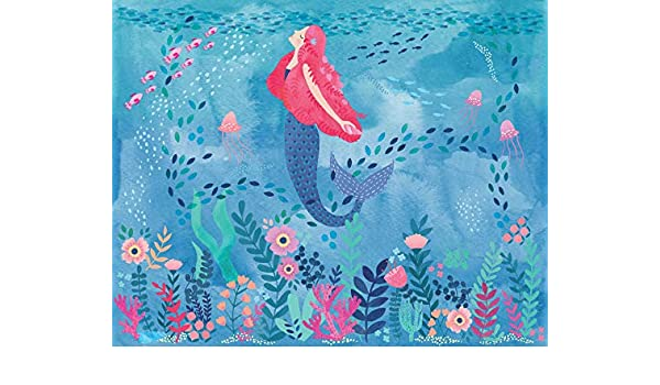 Blue Wall Pops WPM2855 Mermaid Magic Wall Mural