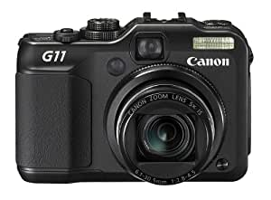 Canon Powershot G11 Appareil photo compact numérique 10Mpix Ecran LCD 2,8'' Zoom optique 5x Zoom numérique 4x Noir