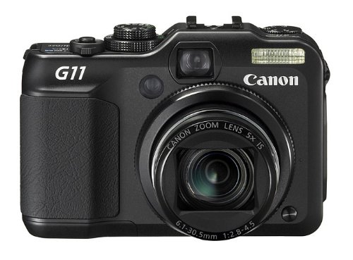 Nb-7l Digital-kamera (Canon PowerShot G11 Digitalkamera (10 Megapixel, 5-fach opt. Zoom, 7,1 cm (2,8 Zoll) LCD-Display) schwarz)