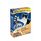 FELIX Sensations Meaty mit Geflügel | 1kg Katzentrockenfutter