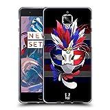 Head Case Designs France Set De Carnival 1: Football Étui Coque en Gel molle pour OnePlus 3 / 3T