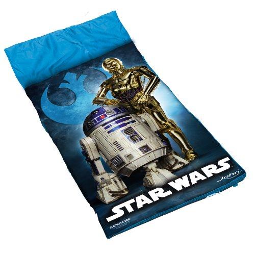 Preisvergleich Produktbild John 75703 - Schlafsack Star Wars,  blau
