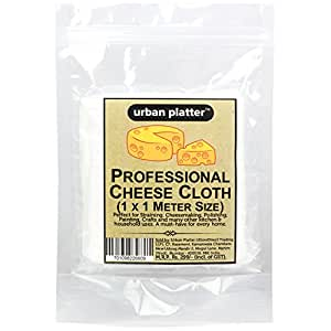 Urban Platter Premium Professional Cheese Making Cloth, 1 Pc [1 Mtr X 1 Mtr, 100% Cotton]