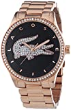 Lacoste Damen-Armbanduhr VICTORIA Analog Quarz Edelstahl beschichtet 2000871