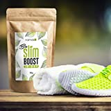 28 Tage Bio Slim Boost Kur - perfekte Ergänzung bei Deiner Detox- Reinigungs- und Fasten-Tee Kur. Loser Kräutertee - Grüner Tee, Mate, Löwenzahn, Brennnessel, u.v.m. - Made in Germany - 100g - 3
