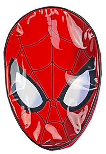 Image of Childrens Spider-Man Marvel Comics Boys Bag Junior Red Backpack