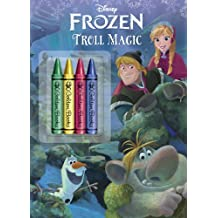 Frozen: Troll Magic [With 4 Chunky Crayons] (Disney Frozen)