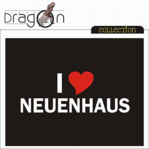 T-Shirt - i Love Neuenhaus - Herren - unisex Schwarz