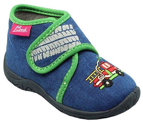 Beck Feuerwehr, Sneakers basses garçon Blau (Blau)