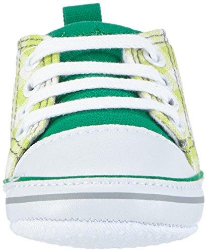 Playshoes Unisex Baby Turnschuhe, Sneaker Landhaus kariert Grün (grün 29)
