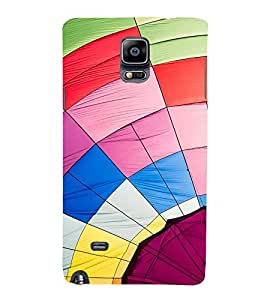 Vizagbeats Multi Color Web Back Case Cover for Samsung Galaxy Note 4