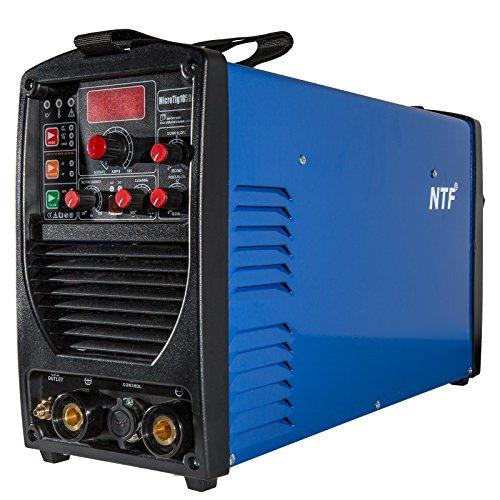TIG WIG Schweißgerät AC DC NTF MICROTIG-185 DA Pulse MMA Schweissinverter HF IGBT