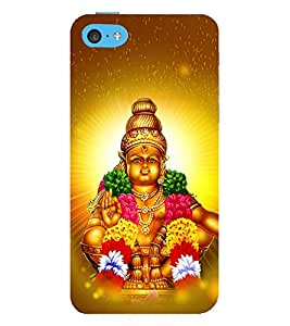 Lord Ayyappa 3D Hard Polycarbonate Designer Back Case Cover for Apple iPod Touch 6 (6th Generation)
