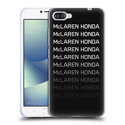 Officiel McLaren Honda Essentials Logo Repeat Art Clé Étui Coque en Gel molle pour Zenfone 4 Max / Pro / ZC554KL