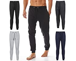 Iron Mountain Mens Reclaimed Yarn Eco Friendly Anti Pil Flexible Comfortable Jog Sweat Pant Trouser