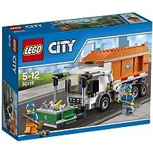 LEGO - 60118 - City - Jeu de Construction - Le Camion Poubelle