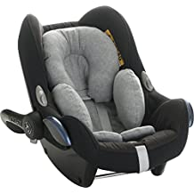 Reductor antialérgico universal para Maxi-Cosi, capazo, silla de coche, silla de paseo. Stone Grey Janabebe ®