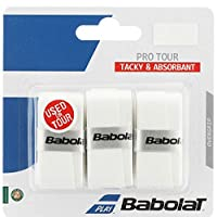 BABOLAT Unisex Adult Pro Tour X3 - White, Pack Of 3