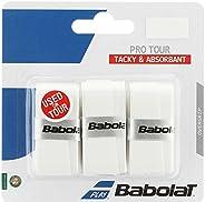 BABOLAT 653037 Adult Pro Tour X3 - أبيض، عبوة من 3 قطع