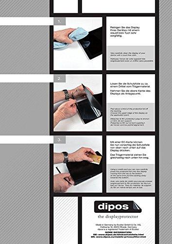dipos I Blickschutzfolie matt passend für Cyrus CYR10090 CS35 Sichtschutz-Folie Bildschirm-Schutzfolie Privacy-Filter