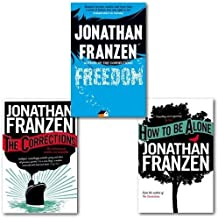 Jonathan Franzen Collection 3 Books (How to be Alone, The Corrections and Fre...